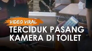 Viral Pegawai Resto Tertangkap Basah Pasang Kamera di Toilet Wanita, Sembunyikan di Botol Pembersih