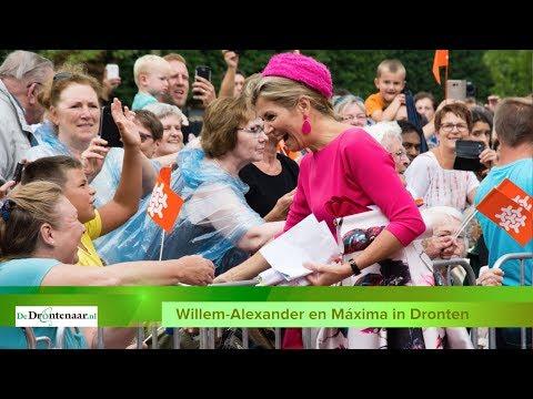 VIDEO | Drontenaren aan het woord over het bezoek van Willem-Alexander en Máxima