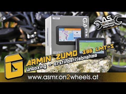 ➤ GARMIN ZUMO 396 LMT-S  Unboxing & Erstinbetriebnahme   Teil 1 Motorrad Navigation