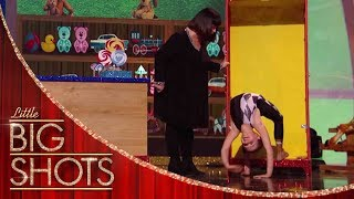 Little Contortionist Will Split Your Sides Laughing | Little Big Shots