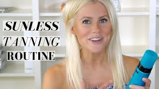MY SELF-TANNING ROUTINE ft. ST. TROPEZ, CLARINS& ECO TAN!