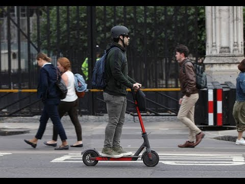 Nearly 100 Electric Scooters Users Stopped in London In One Week
