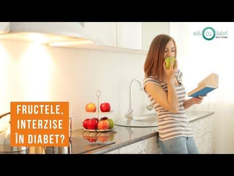 Dieta in diabetul zaharat de tip 2 și a valorilor crescute ale colesterolului
