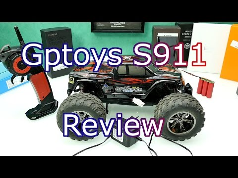 GPTOYS S911 RC Truck Review - Cheap But Awesome RC Car ! [4K]