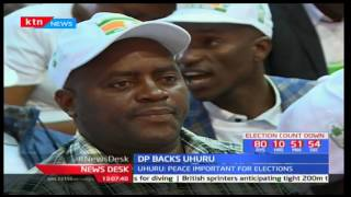 Democratic Party among the parties endorsing President Uhuru Kenyatta's bid