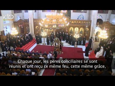 La prière au coeur du concile orthodoxe