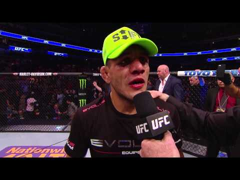 UFC 185: Rafael dos Anjos and Anthony Pettis Octagon Interview
