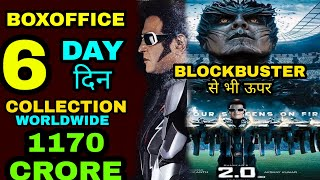 Robot 2.0 6th day Boxoffice Collection, Robot 2.0 Worldwide Collection, Akshay kumar Rajnikant