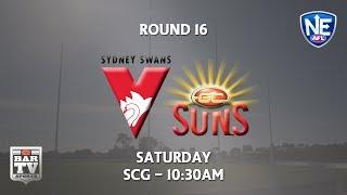 2018 Round 16 - Sydney Swans v Gold Coast Suns | Kholo.pk