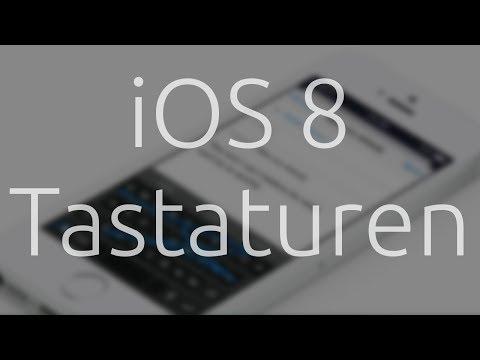 iOS 8 Tastaturen -- Fleksy - Minuum - Adaptxt