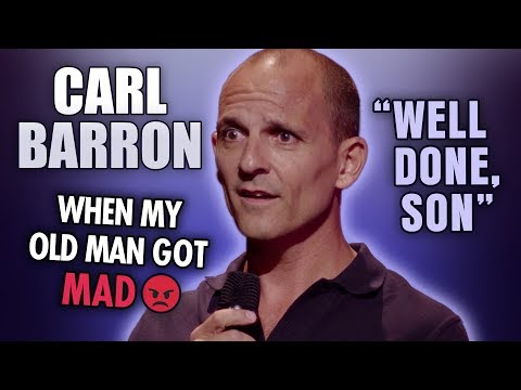 Carl Barron - Funny Ways To Get Told Off By Your Old Man