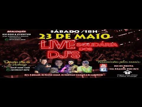 LIVE SOLIDARIA DOS DJS DE PONTA PORÃ