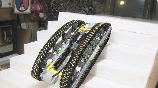 LEGO - Tank Robot stair climber test #1