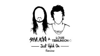 Steve Aoki & Louis Tomlinson - Just Hold On (DVBBS Remix) [Cover Art]