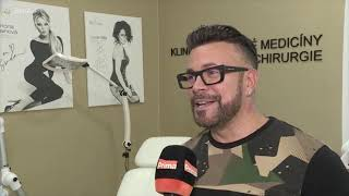 Fashion designer Osmany Laffita on eyelids surgery at YES VISAGE Clinic