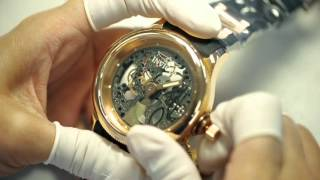 Invicta horlogemakers video