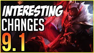 HUGE Vayne/Kalista Buffs INCOMING! NEW Interesting Changes Coming in Patch 9.1 - League of Legends