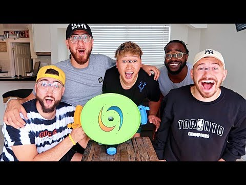 IMPOSSIBLE SPIN OFF CHALLENGE!!!! (FIRST ONE TO DROP ALL BALLS WINS)