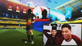 OMG THESE PACKS ARE TOO GOOD! - FIFA 17  FUT CHAMPION REWARDS!