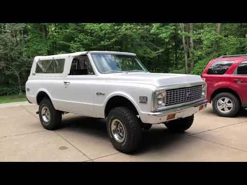 Video of '72 Blazer - Q67R