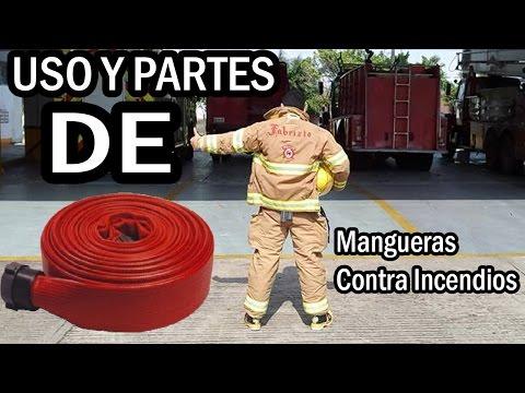 DIARIO DEL BOMBERO: Uso y partes de mangueras contra incendios - FabrizioPoke