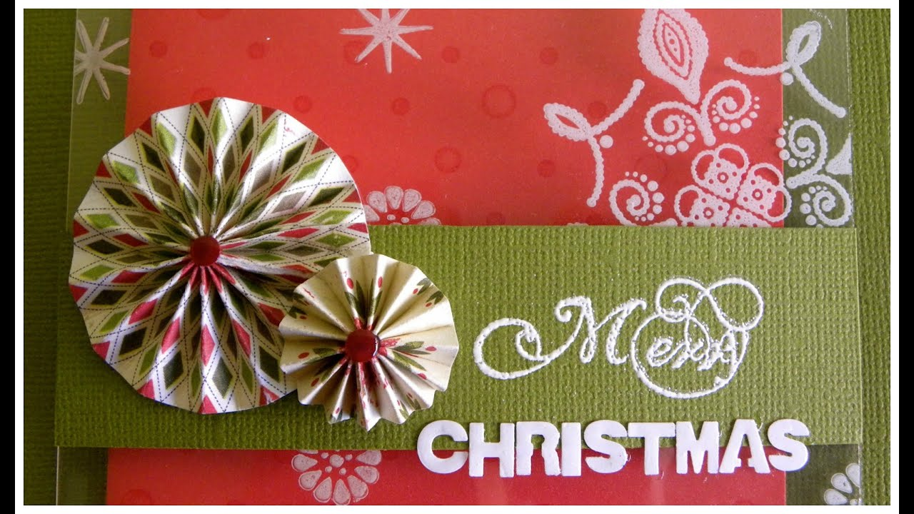 Plastic Christmas card - Tarjeta Navidad Flotante con plástico transparente