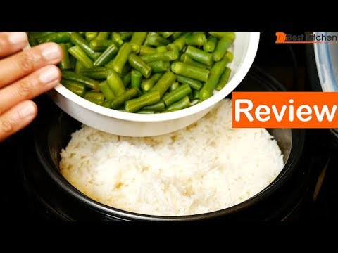 Aroma 8 Cup Rice Cooker Review Demo