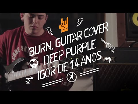 Burn - Deep Purple (Guitar Cover) By Igor Hertz