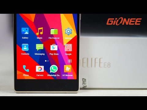 Gionee Elife E8 - Unboxing & Hands On!