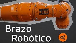 ¿Cómo Funciona Un Brazo Robótico? Ft. KUKA   Bunker Maker