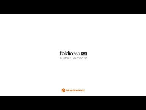 Orangemonkie Kit di estensione per Foldio 360 (casella di registrazione)