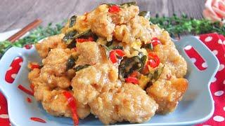 Super Yummy Crispy Creamy Butter Chicken 奶油鸡 Singapore Chinese Style Recipe • Chicken Recipe