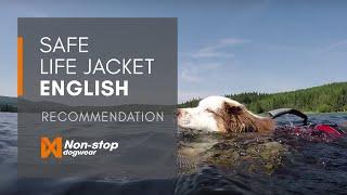 Non-stop dogwear Safe Life Jacket EN
