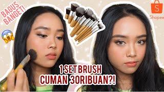 1 Set Brush Cuman 30ribuan?! | Brush Buat Pemula | Review