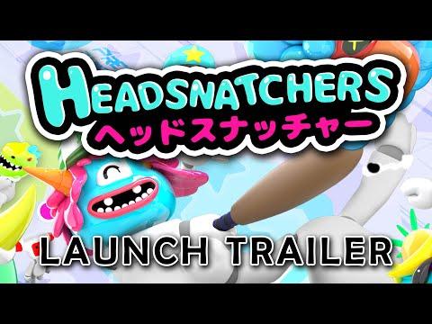Headsnatchers - Launch Trailer thumbnail