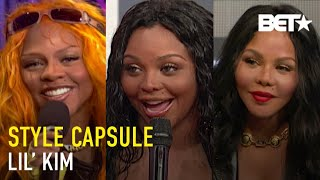 Lil' Kim Shows That The Queen Bee Always Had To Stay Fly When Visiting 106 & Park | Style Capsule