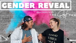 EPIC GENDER REVEAL REACTIONS | the east family