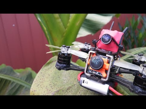 Wide lens Modded SQ11 HD footage - X2 ELF Micro FPV Ripping