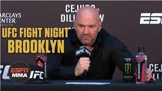 Dana White Post-Fight Press Conference | UFC Fight Night: Brooklyn | ESPN MMA