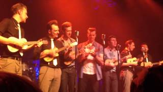 What You Want - The Baseballs with 7 Ukulele Live