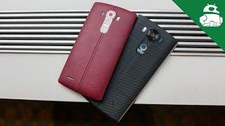 LG V10 Vs LG G4   Quick Look!