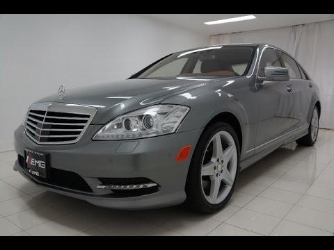 2011 Mercedes Benz S550 4MATIC Night Vision