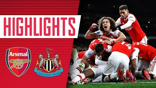 HIGHLIGHTS | Arsenal 4-0 Newcastle | Premier League | Feb 16, 2020