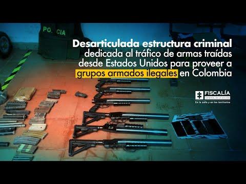 Fiscal Barbosa: Desarticulada estructura criminal dedicada a traficar armas traídas desde EE.UU.