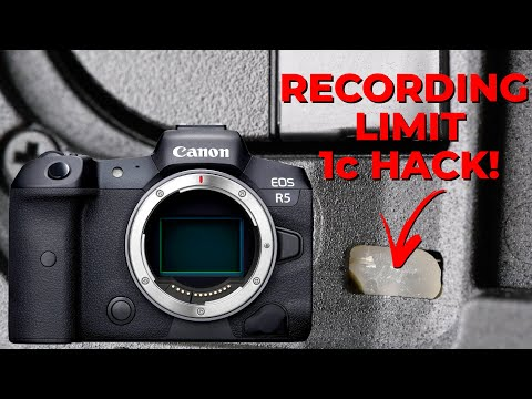 Canon EOS R5 Overheating - 1 Cent SOLUTION