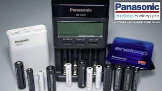 Panasonic Eneloop / Eneloop Pro Batteries And Chargers Short Review