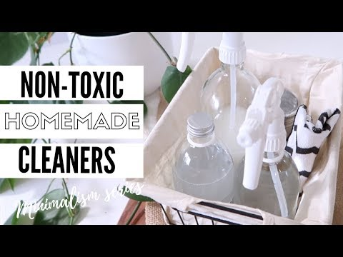 DIY Natural Cleaning Products | Clean With Me 2018