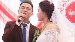 Chú rể hát Vợ Tuyệt vời Nhất tặng cô dâu