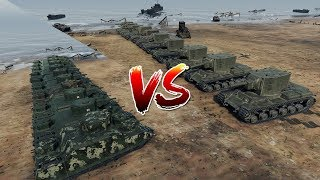World of Tanks - 10 KV-2 vs 10 O-I [ Versus Seri ]