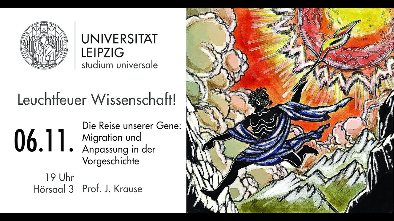 Prof. Dr. Johannes Krause - Die Reise unserer Gene